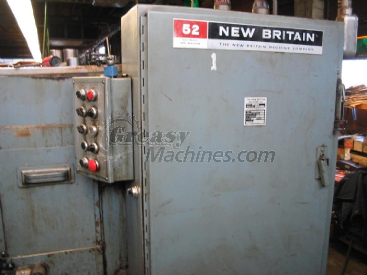 New Britain, #52, automatic screw machine, 1.25 inch(s) Capacity.