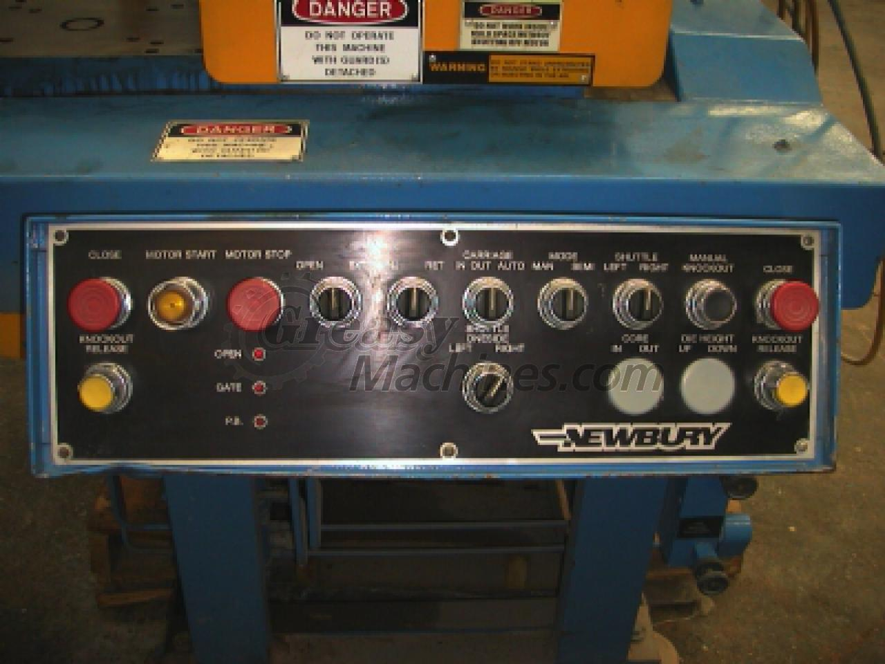 Newbury 30 ton, 4 oz shuttle injection molder