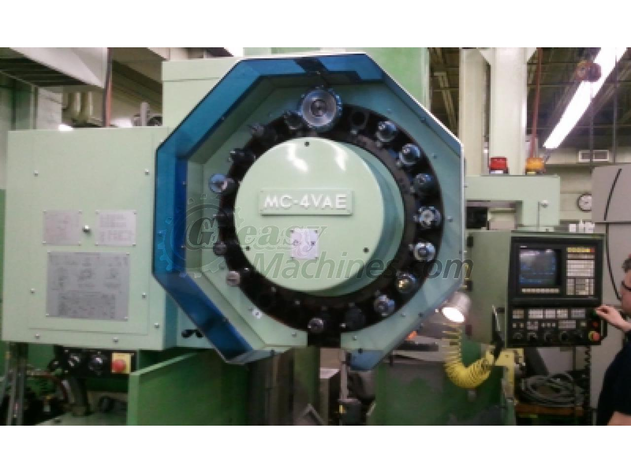 OKUMA MC-4VAE, 4 axis machining center, OSP 5020M control, Nikken rotary table, 1993, Excellent