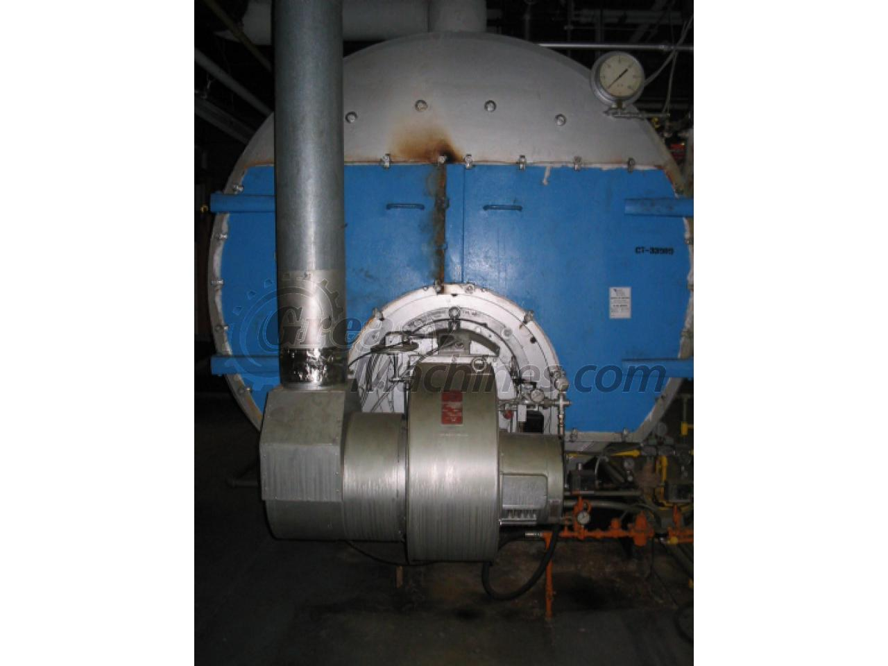 HP steam boiler., Used Machinery, Used Equipment, Financing, Leasing